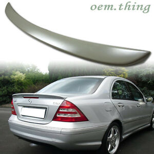 Stock Usa For Mercedes Benz W203 4dr A Type Trunk Spoiler C240 C320
