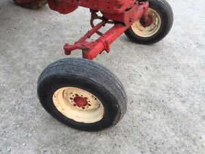 Farmall 450 400 Sm Mta Tractor Wide Front End Widefront Frontend Hubs Rims Tires