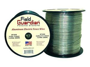 Field Guardian 16 guage Aluminum Wire 1 2 Miles