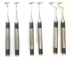 Flexible Periotome Straight curved for Dental Implant And Tooth Extraction 1000