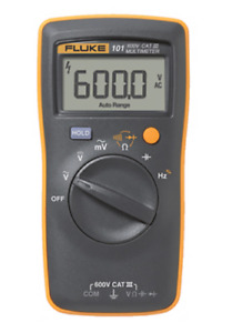Fluke 101 Basic Digital Multimeter Pocket Portable Meter 600v Cat Iii