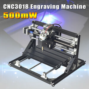 500mw Mini Cnc Router 3018 Laser Engraving Machine Engraver Wood Carving Cutter