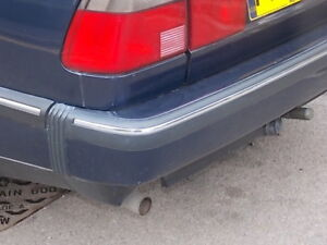 Saab 9000 Cs Cse Cd Cde Griffin Chrome Bumper Trim Injection Or Turbo