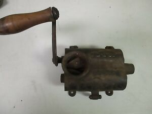 Vintage Cast Iron Sausage Stuffer Peck Stowe And Wilcox Ps And W