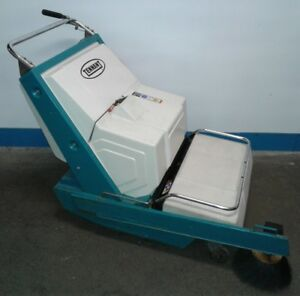 Tennant Nobles Scout 37b Walk Behind Battery Powered Sweeper