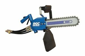Rgc Professional Portable Industrial Hydraulic Concrete Minisaw Chainsaw 8gpm