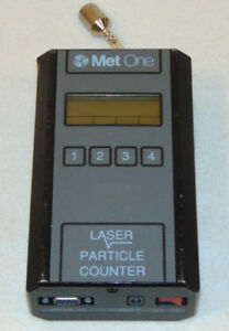 Stunning Met One Portable Handheld Professional Laser Particle Counter 227b