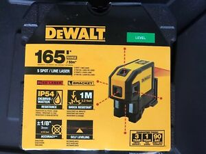 New Dewalt Dw0851 Laser Self Leveling 5 Spot 100 Range Kit 2667335