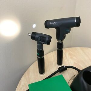 Welch Allyn Panoptic With Macroview Otoscope Lithium Ion Handles Charger