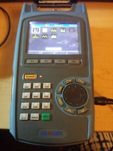 Deviser Ds2500c Cable Tv Signal Meter Docsis 3 0 Ethernet Usb Analyzer Tester