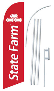 State Farm Windless Swooper Flag