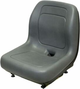 Ford New Holland Gray Skid Steer Seat Fits C175 C185 C190 C227 C232 And C238