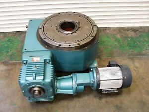 Camco Index Drive Rotary Table 1800rdm3h64 330 With 5hp Motor