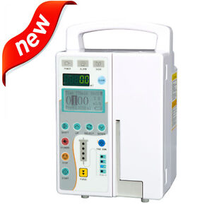 Ud Infusion Pump Iv Fluid Equipment With Voice Alarm Monitor For Vet Or Human