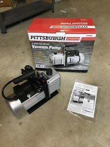 Pittsburgh 3 Cfm Vacuum Pump Hvac Tool