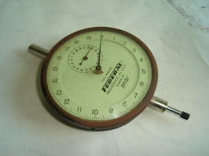 Huge Federal Dial Indicator 0001 E3bs r1 Large Face 3 1 2 Toolmaker Machinist