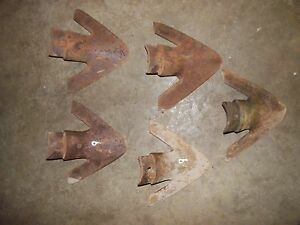 Jd John Deere Farmall Ih Ac Ford Allis Oliver 5 Cultivator 9 Shovels Sweeps
