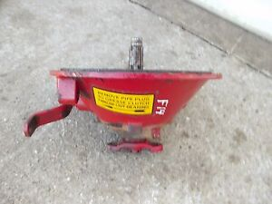 Mccormick Farmall F14 F12 Tractor Ih Main Transmission Input Housing Throw Out