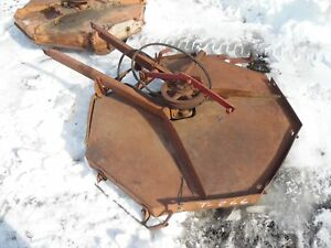Farmall Cub Tractor Woods Belly Mower