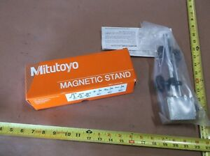 Mitutoyo 7010sn Magnetic Base And Indicator Holder