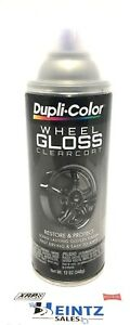 Duplicolor Hwp103 Wheel Rim Gloss Clear Coat Coating Paint Restore Protect