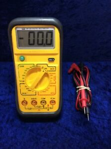 Uei Dm383 Digital Multimeter Works Great Great Condition Fast Shipping