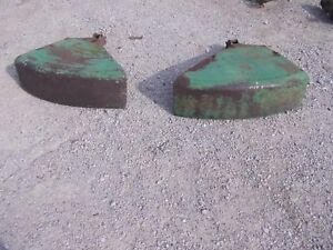 John Deere B A G Tractor Original Jd Over The Top Fenders