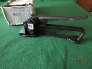 New Encore Packaging Hd Feedwheel Pusher Tensioner Strapping Tool Ep 1600 Usa