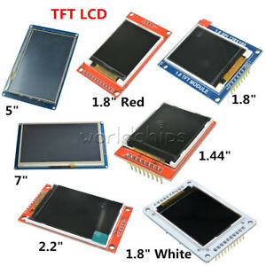 Spi Tft Lcd 1 44 1 8 2 2 5 7 Inch Shield Module St7735s Ssd1963 For Arduino 51