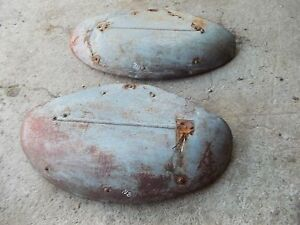 Ford 8n Tractor Pair Set Of Ford Fender Fenders