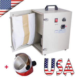 Us Dental Digital Dust Collector Vacuum Cleaner Collecting Machine Suction Base