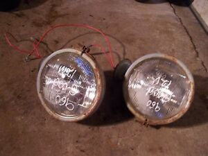 Ford 960 Tractor Original Working Pair Set 12v Front Head Light Lights