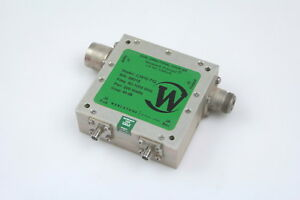 Werlatone C3910 712 Dual Directional Coupler 40db 80 To 1000mhz 200w