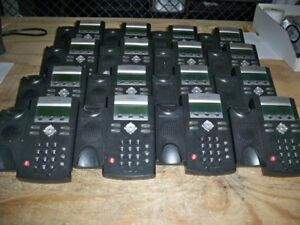 Lot Of 16 polycom Ip335 0404 10 4036 Soundpoint Digital Phones No Cable handsets