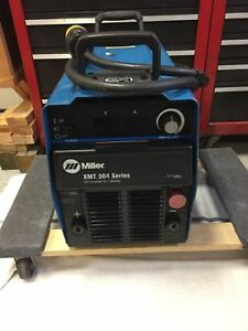 Miller Xmt 304 Cc Welder Leads Included