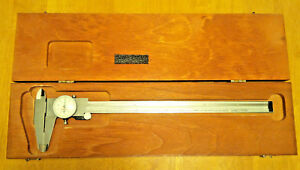 Starrett Dial Caliper 12 Inch Model 120 12 Used Made In The Usa