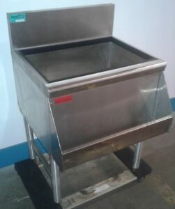 Prestige Under Bar Ice Bin With 8 Circuit Cold Plate Speed Rail Our 1