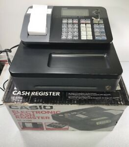Casio Cash Register Se s700 Free Shipping Very Lightly Used