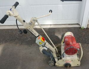 Edco Cpl8 1 5l Walk Behind Concrete Scarifier Planer Electric 1 5hp 110v