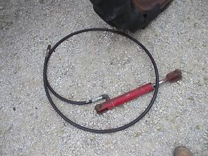 Universal Ih Farmall Lift Cylinder Fr Plow Or Disk Or Implement Behind A Tractor