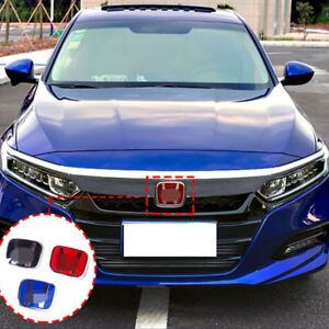 For Honda 10th Accord Sedab 2018 19 H Emblem 3 Pcs Set Front rear steering Wheel