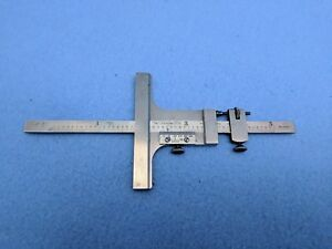 Starrett 6 Vernier Depth Gage Model 448