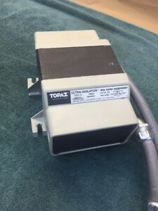 Topaz 91095 31 Ultra isolator Line Noise Suppressor 120 240v 1 Phase 500va