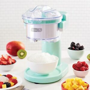 Electric Ice Shaver Crusher Machine Device Hawaiian Shaved Ice Snow Cone Maker