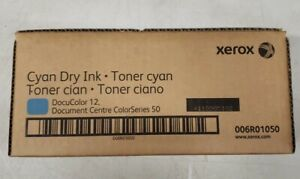 Genuine Xerox Dry Ink Cyan Toner For Docucolor 12 006r01050