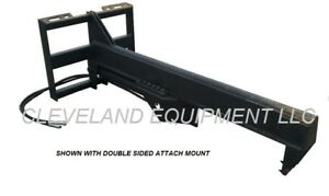 New 35 Ton Inverted Log Wood Splitter Attachment Bobcat Skidsteer Track Loader