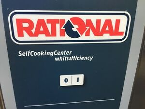 Rational Combi Oven 62 Electric clean With Rational Stand And Accessories