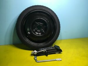 Compact Spare Tire Fits 2008 2014 Mini Cooper Club Man With Jack Kit