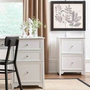 Small Filing Cabinet Wood File Cabinets Office Furniture Organizer 2 drawer Home