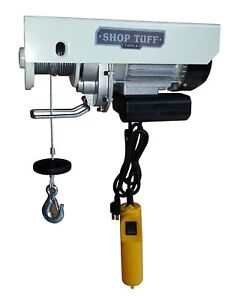 Shop Tuff Stf 5511eh Electric Cable Hoist